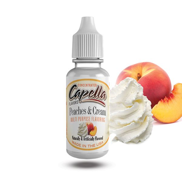 Capella maitsestaja Peaches and Cream 13ml
