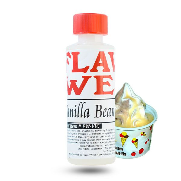 Flavor West maitsestaja Vanilla Bean Ice Cream 118ml