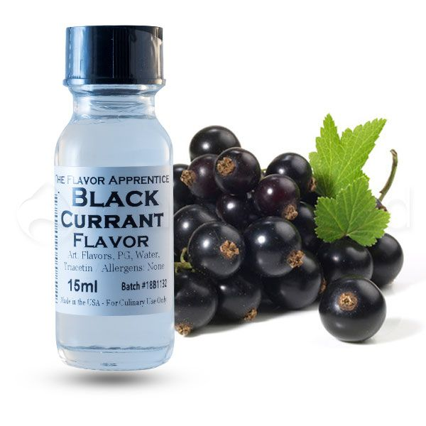 The Flavor Apprentice maitsestaja Black Currant 15ml