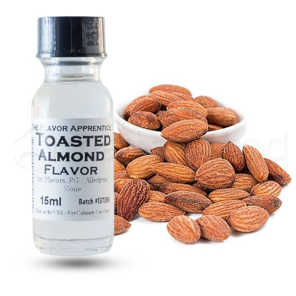 The Flavor Apprentice maitsestaja Toasted Almond 15ml