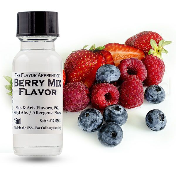 The Flavor Apprentice maitsestaja Berry Mix 15ml
