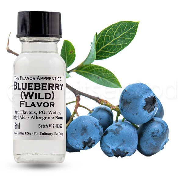 The Flavor Apprentice maitsestaja Blueberry Wild 15ml