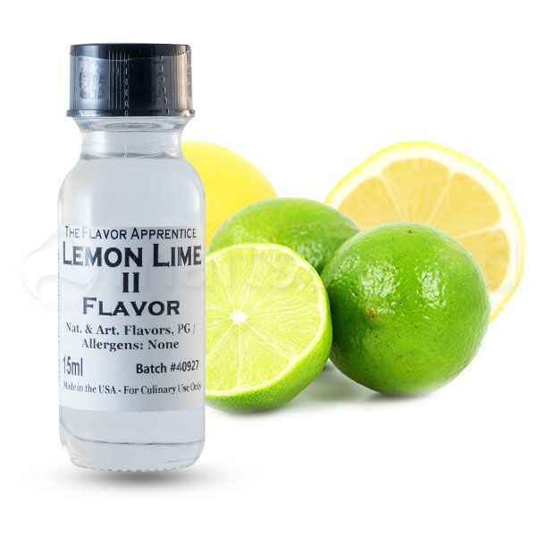 The Flavor Apprentice maitsestaja Lemon Lime 15ml