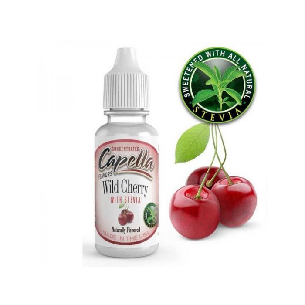 Capella maitsestaja Wild Cherry With Stevia 13ml