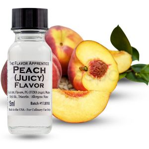 The Flavor Apprentice maitsestaja Juicy Peach 15ml